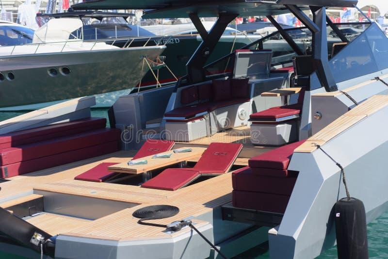 Genova: cinquantasettesima manifestazione della barca fotografie stock