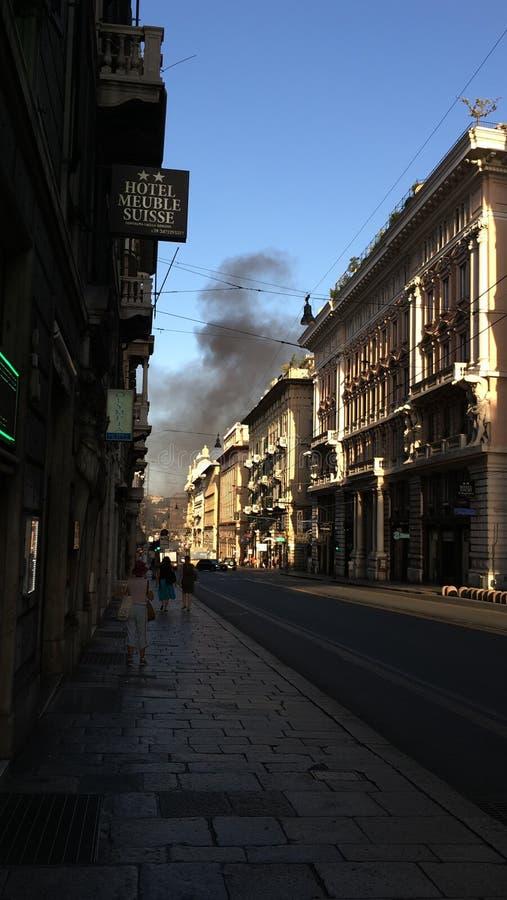 Genova royalty free stock photo