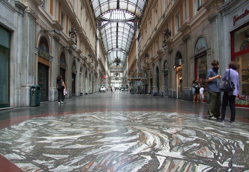Genova-Galleria-Liguria-Itália - Creative Commons por gnuckx imagens de stock