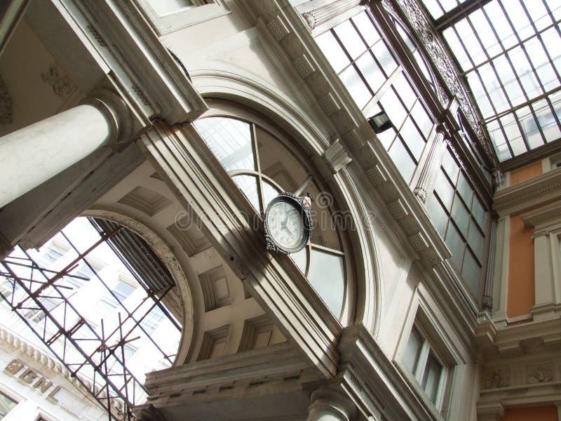 Genova-Galleria-Liguria-Itália - Creative Commons por gnuckx imagem de stock royalty free