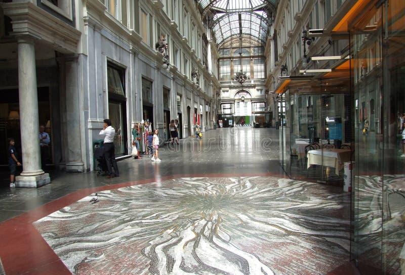 Genova-Galleria-Liguria-Itália - Creative Commons por gnuckx foto de stock royalty free