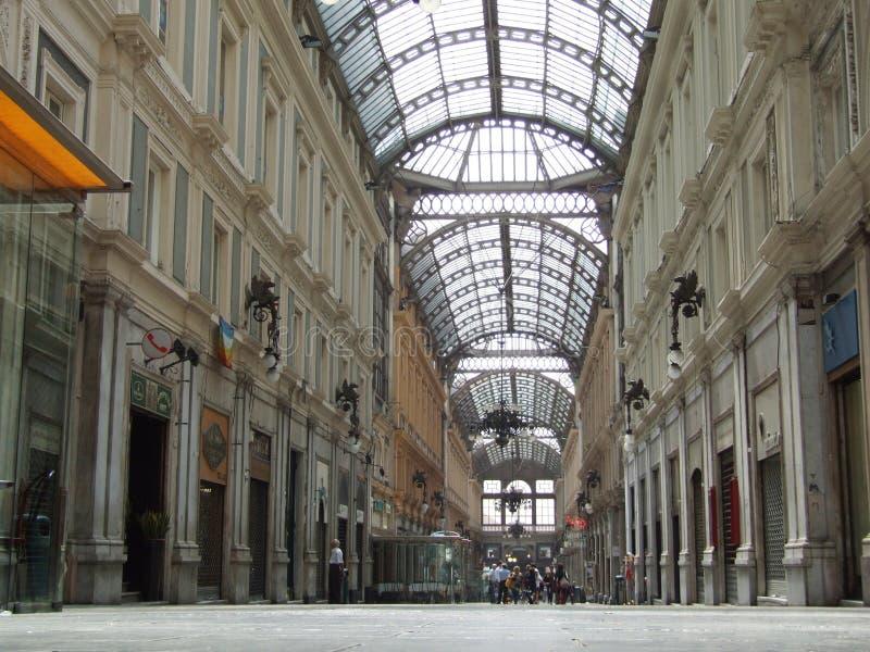 Genova-Galleria-Liguria-Itália - Creative Commons por gnuckx imagens de stock royalty free