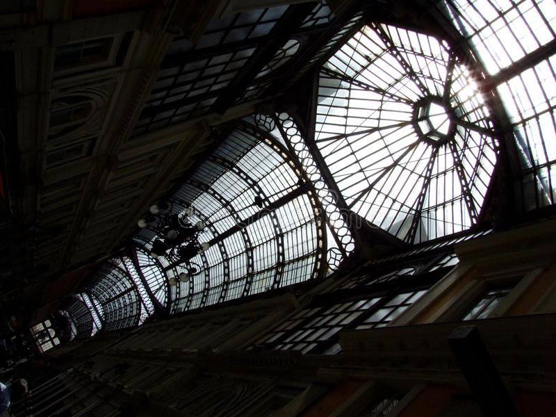 Genova-Galleria-Liguria-Italia - Licenza Creative Commons di gnuckx fotografie stock libere da diritti