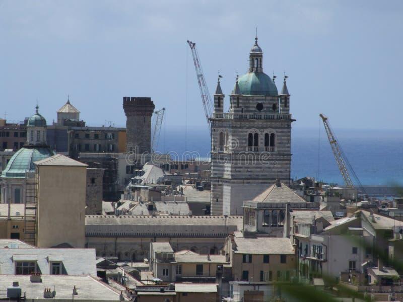 Genova-Liguria-Itália - Creative Commons por gnuckx imagem de stock royalty free