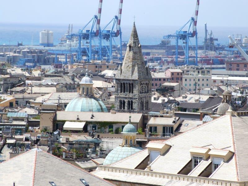 Genova-Liguria-Itália - Creative Commons por gnuckx foto de stock