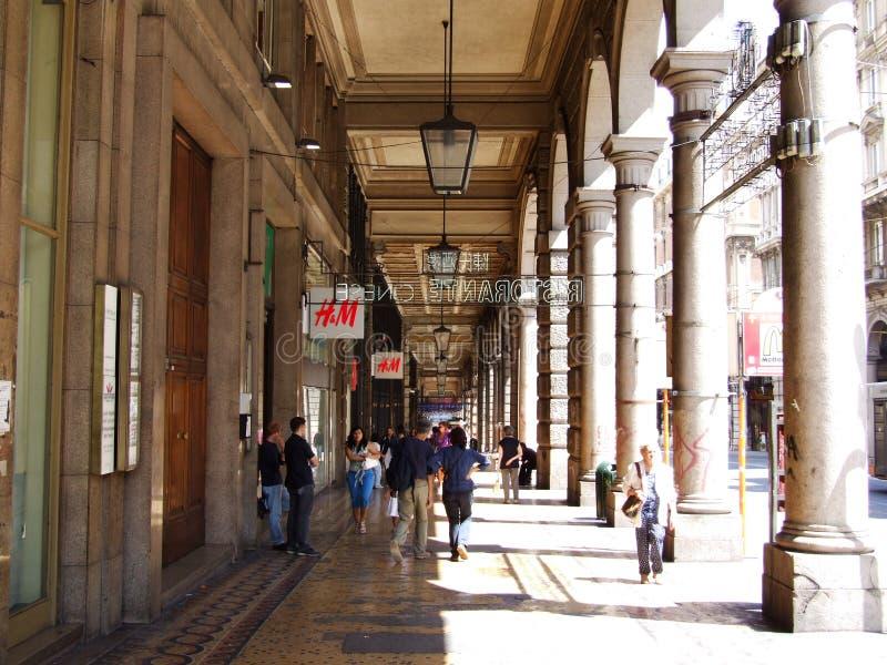 Genova Liguria Itália - Creative Commons por gnuckx fotografia de stock royalty free