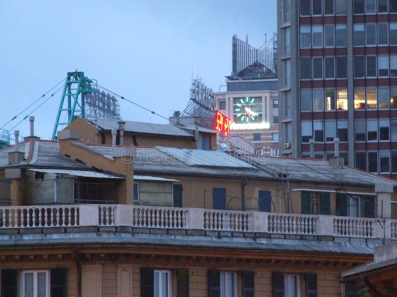 Genova Liguria Italia - Creative Commons di gnuckx fotografia stock
