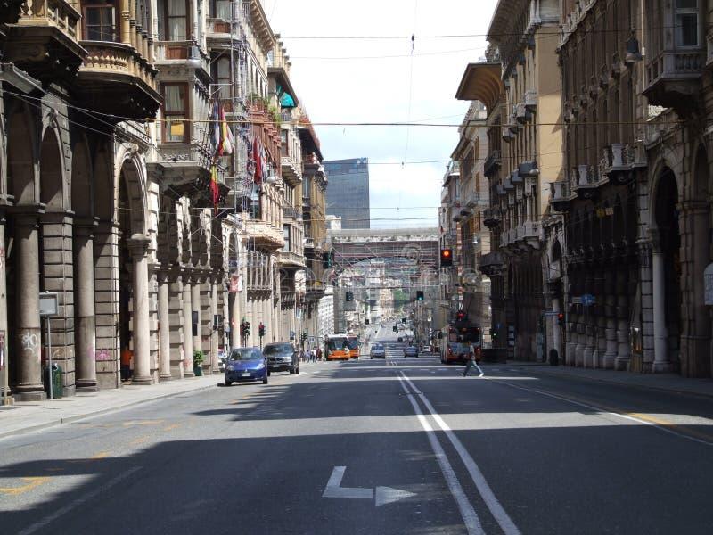 Genova-Liguria-Italia - Licenza Creative Commons di gnuckx immagini stock libere da diritti