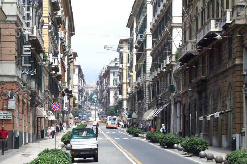Genova-Liguria-Italia - Licenza Creative Commons di gnuckx immagine stock libera da diritti