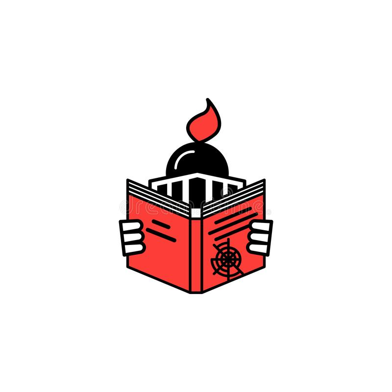 Genre, book, navigation icon. Element of literary genres icon for mobile concept and web apps. Detailed Genre, book, navigation ic. On can be used for web and vector illustration