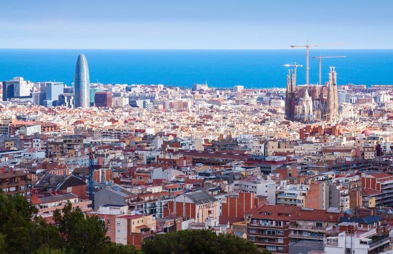 Genre supérieur de Barcelone photo stock