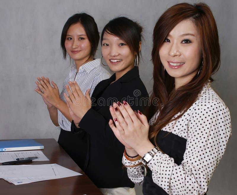 Gens d'affaires photo stock