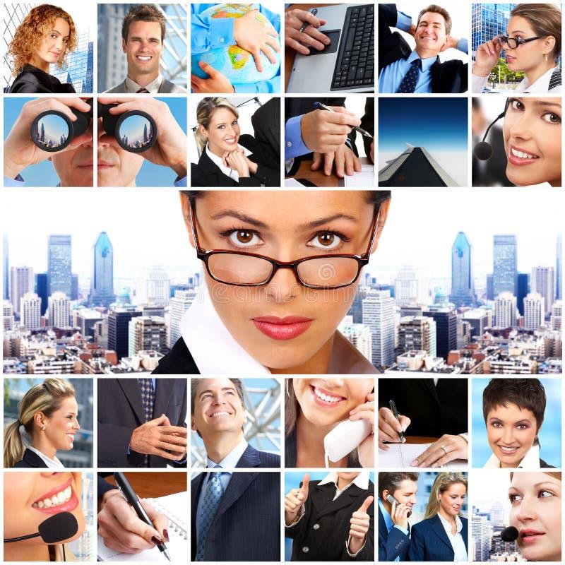 Gens d'affaires images stock