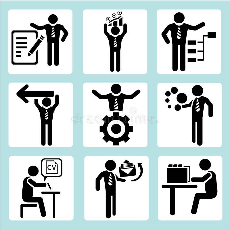 Gens d'affaires illustration libre de droits