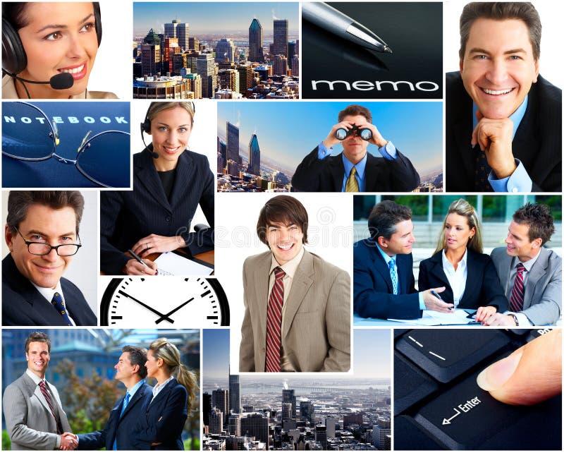 Gens d'affaires photographie stock