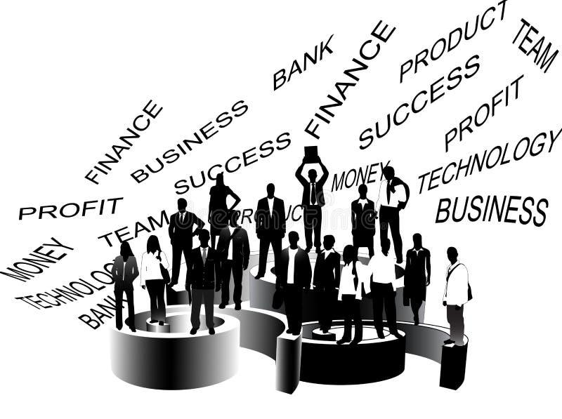 Gens D'affaires Image Stock