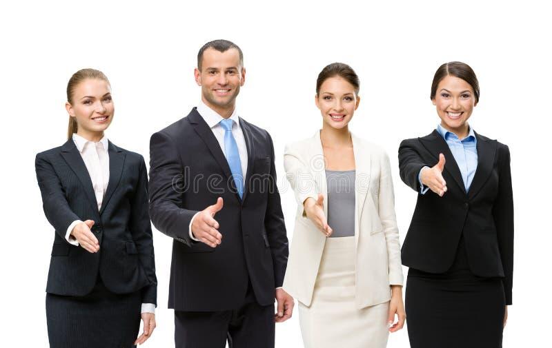 Gens d'affaires attirants d'équipe photos libres de droits