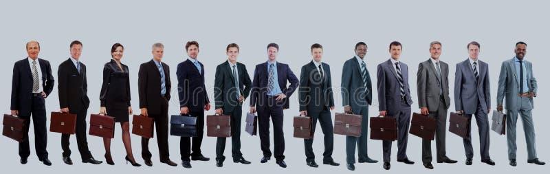 Gens d'affaires attirants - l'équipe d'affaires d'élite photographie stock libre de droits
