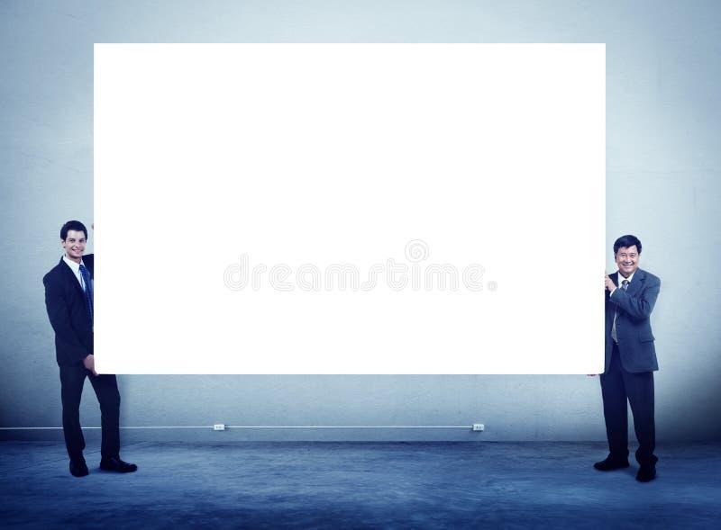 Gens d'affaires de bannière de copie de concept d'entreprise de l'espace photographie stock libre de droits