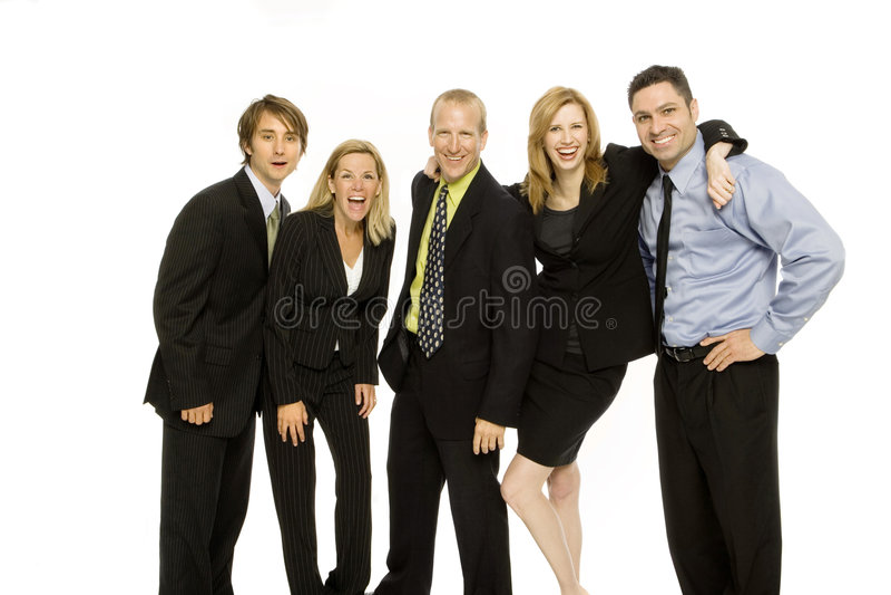 Gens d'affaires de travail d'équipe image stock