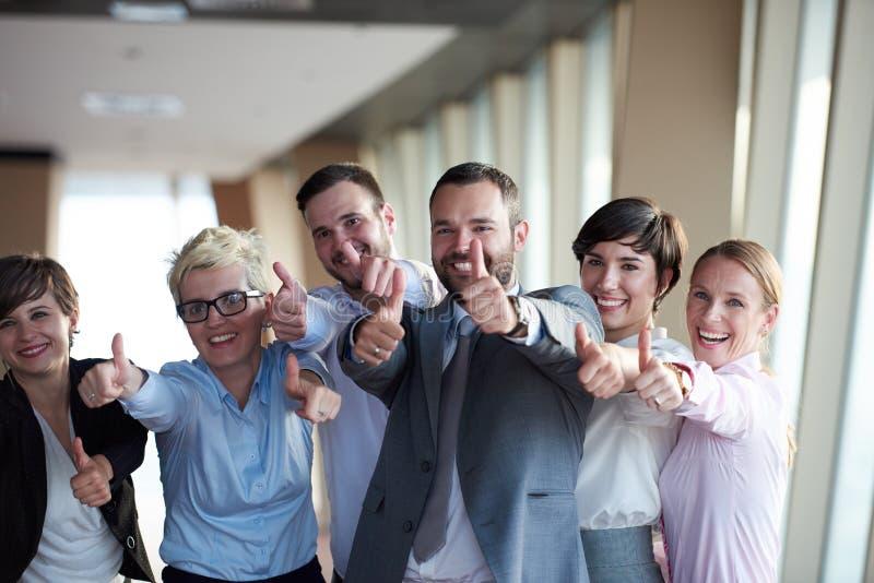 Gens d'affaires divers de groupe image stock