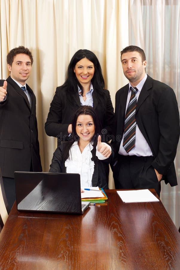 Gens d'affaires réussi photo libre de droits