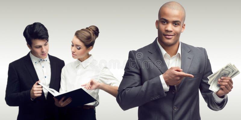Gens d'affaires réussis photo stock