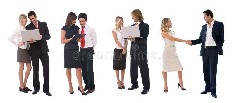 Gens d'affaires travaillant en équipe photographie stock libre de droits