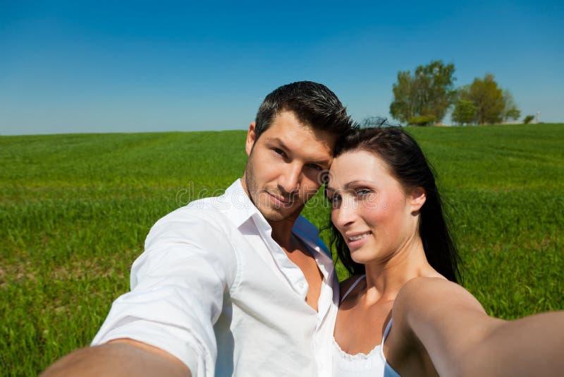 Gens de couples image stock