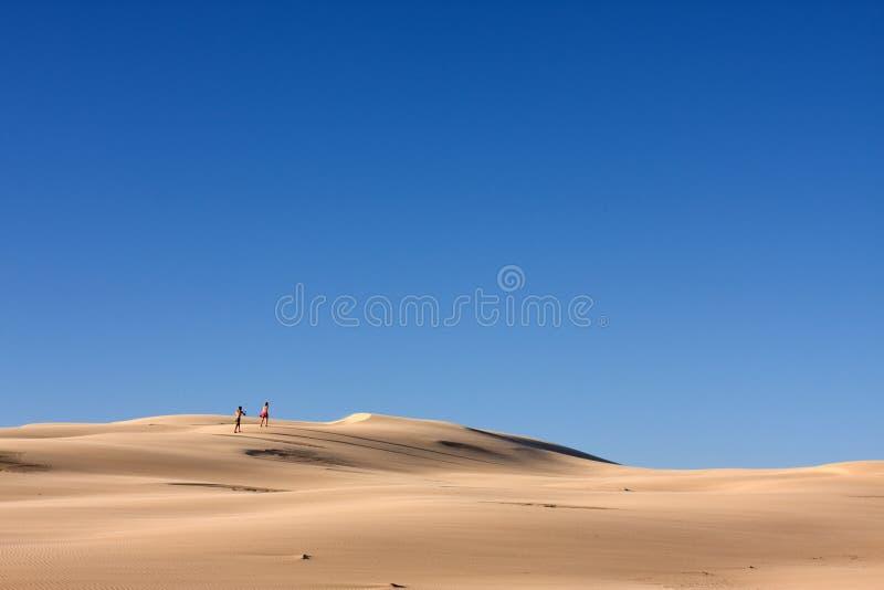 gens de désert photographie stock