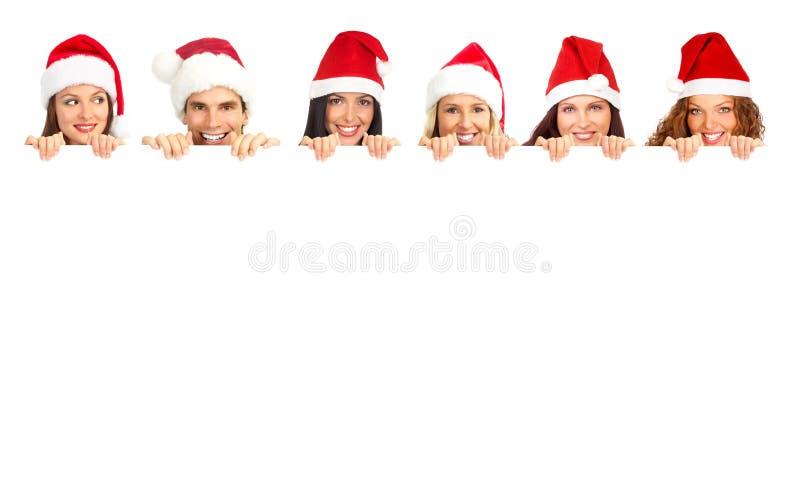 Gens de Noël photo stock