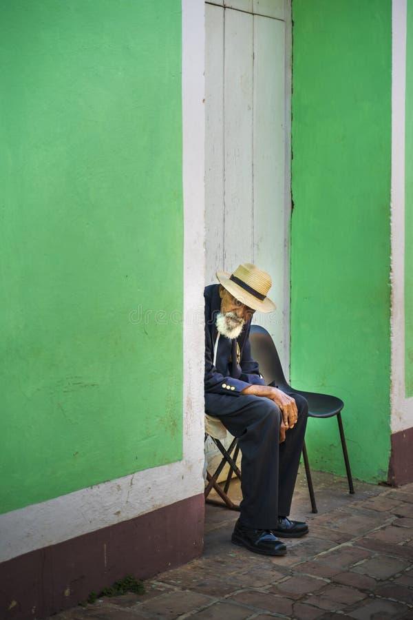 Gens du pays au Trinidad photos libres de droits