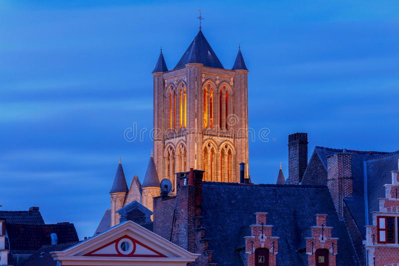 gent Πύργος Μπέλφορτ στοκ φωτογραφία
