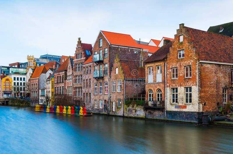 Gent Гент, Бельгия стоковые фотографии rf