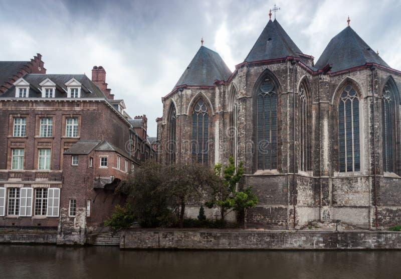 Gent церков St Michael стоковые изображения rf