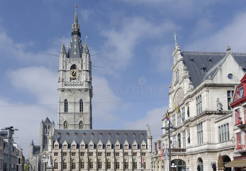 Gent-Ansicht stockfotos