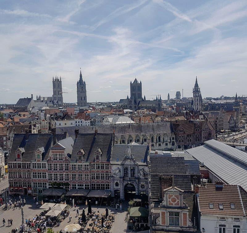 Gent Bélgica fotografia de stock