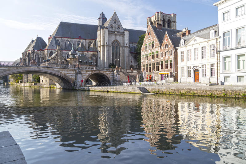 Gent, België royalty-vrije stock afbeeldingen