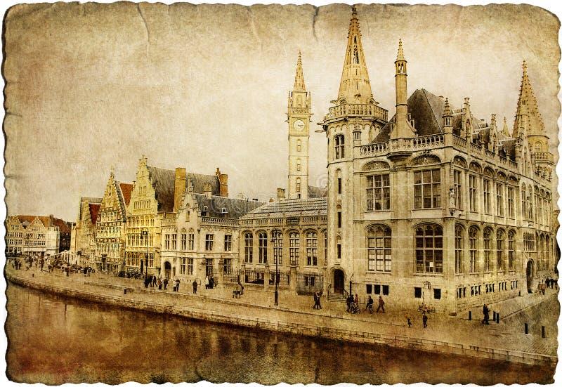 Gent - Belgien royaltyfria foton