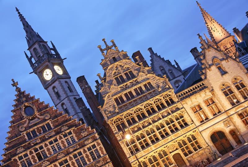 Gent, Belgien stockfotos