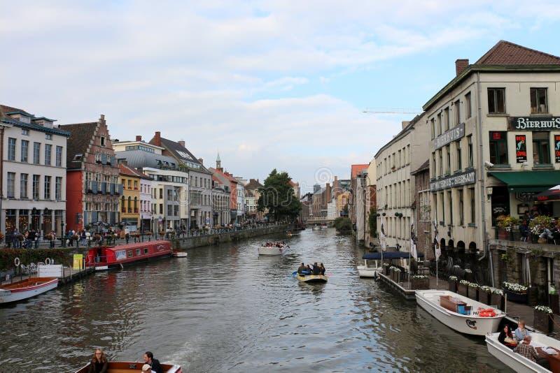 Gent, Belgien lizenzfreie stockbilder