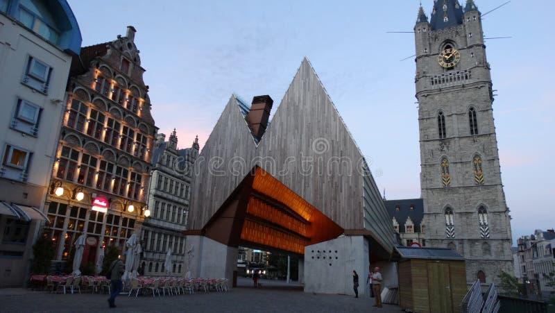 Gent, Belgio Luglio 2014 fotografia stock