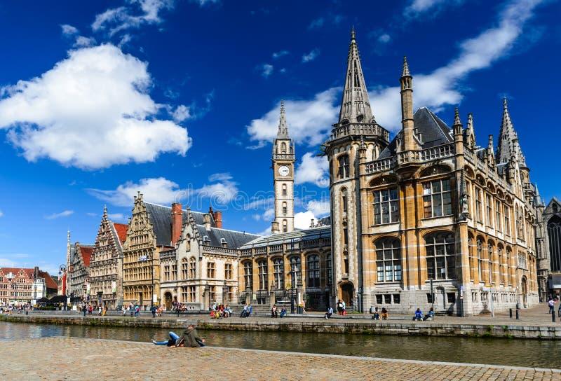Gent, Flander, Бельгия стоковые изображения rf