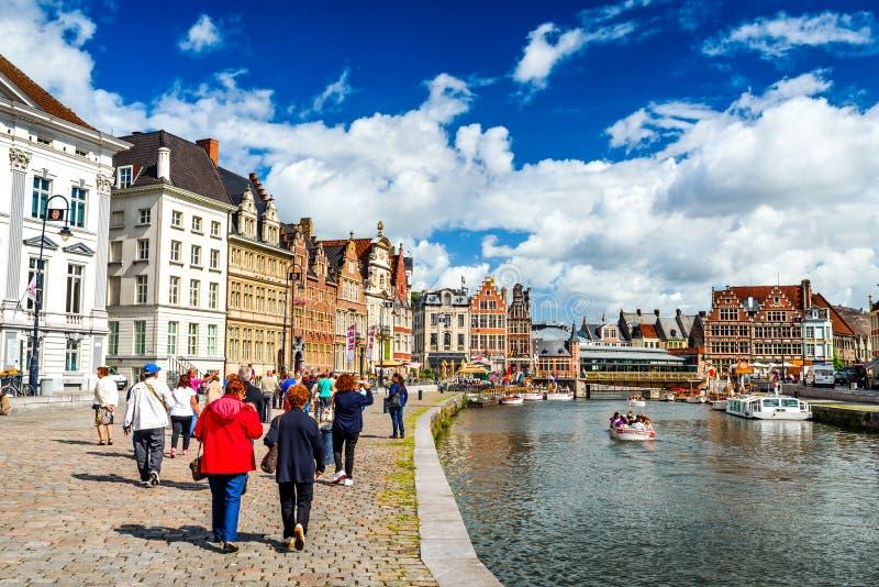 Gent, Flanders, Belgium royalty free stock photos