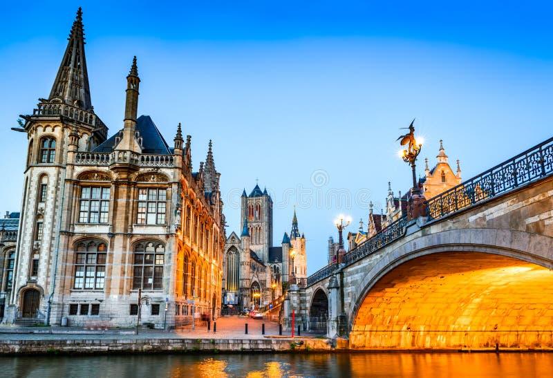 Gent, Flandryjski, Belgia zdjęcie stock
