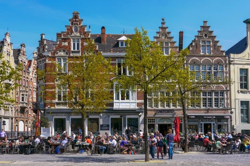 Gent, Oost-Vlaanderen/België stock fotografie
