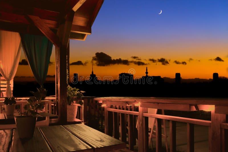 Gent Skyline imagens de stock royalty free