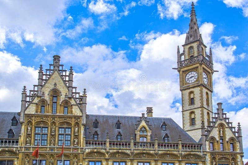 Gent / Gent, Vlaanderen, België stock foto