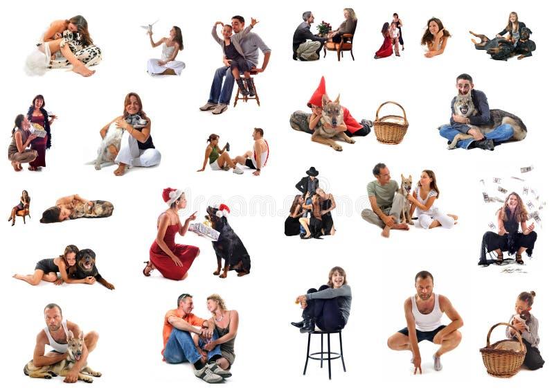Gente imagen de archivo libre de regalías