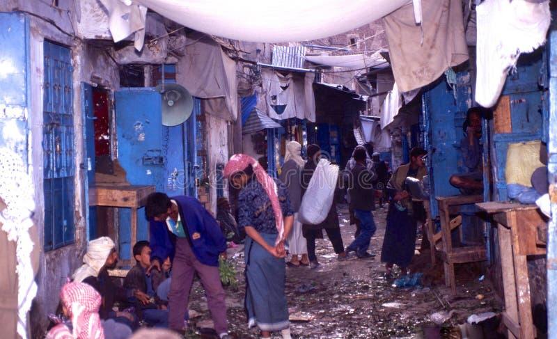 gente 1996-Yemen foto de archivo